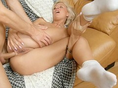 Such a seducing and vehement golden-haired amateur involves the stud into the most excellent amateur sex with deepest snatch and gazoo penetration and ejaculation in the end.